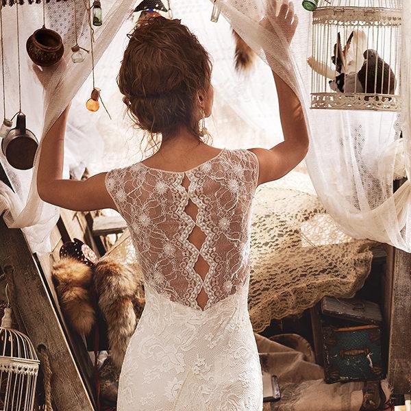 Verrassend Nieuwe collectie Olvi's Bridal nu online - Van Os trouwjurken. De QV-73