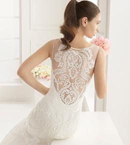 Bruidsjurken met een <br/>mooie rug