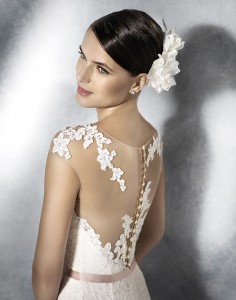 Tattoo effect bruidsjurk Pronovias
